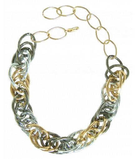 Chaines métal 3 couleurs