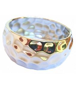 Large bracelet martelé, très bel effet