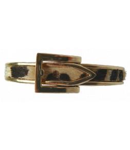 Bracelet ceinture style léopard