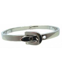 Bracelet ceinture argenté