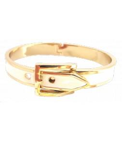 Bracelet ceinture blanc