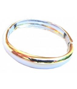 Moderne et élégant, bracelet ovale articulé
