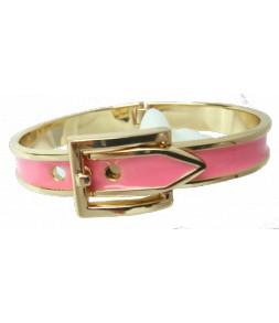 Bracelet ceinture rose