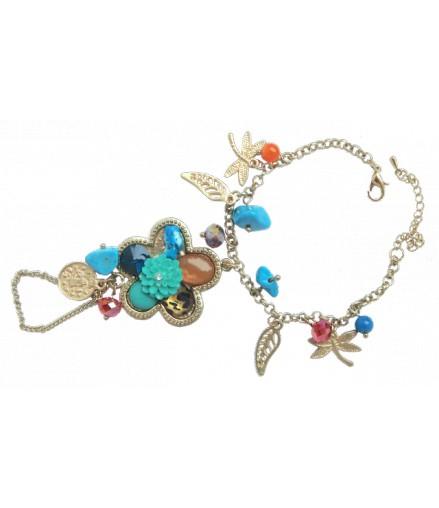 Bracelet oriental boucle doigt