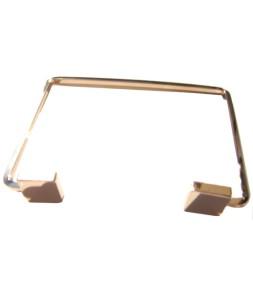 Bracelet ouvert géométrique doré