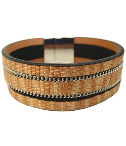 acheter pas cher bracelet fantaisie jonc ouvert dor et strass. Black Bedroom Furniture Sets. Home Design Ideas