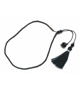 La finesse des perles du Japon, noir